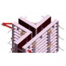 Стеновая алюминиевая опалубка