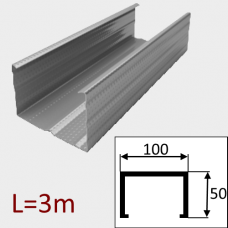 Профиль ПС-6 100/50 L=3м