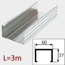 Профиль  ПП-60/27 L=3м