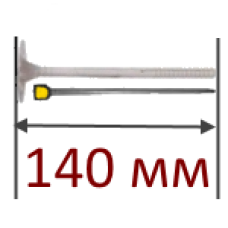 Дюбель для изоляции 140мм (стальной гвоздь)