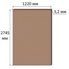 ДВП 3,2 мм, 2745х1220 мм